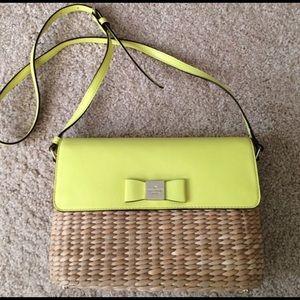 Kate Spade straw purse 👛